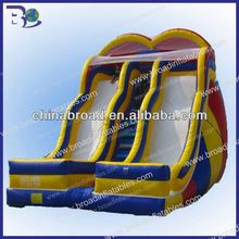 funny and cheap outdoor slide for kids 2013 best seller inflatable water slide clearance