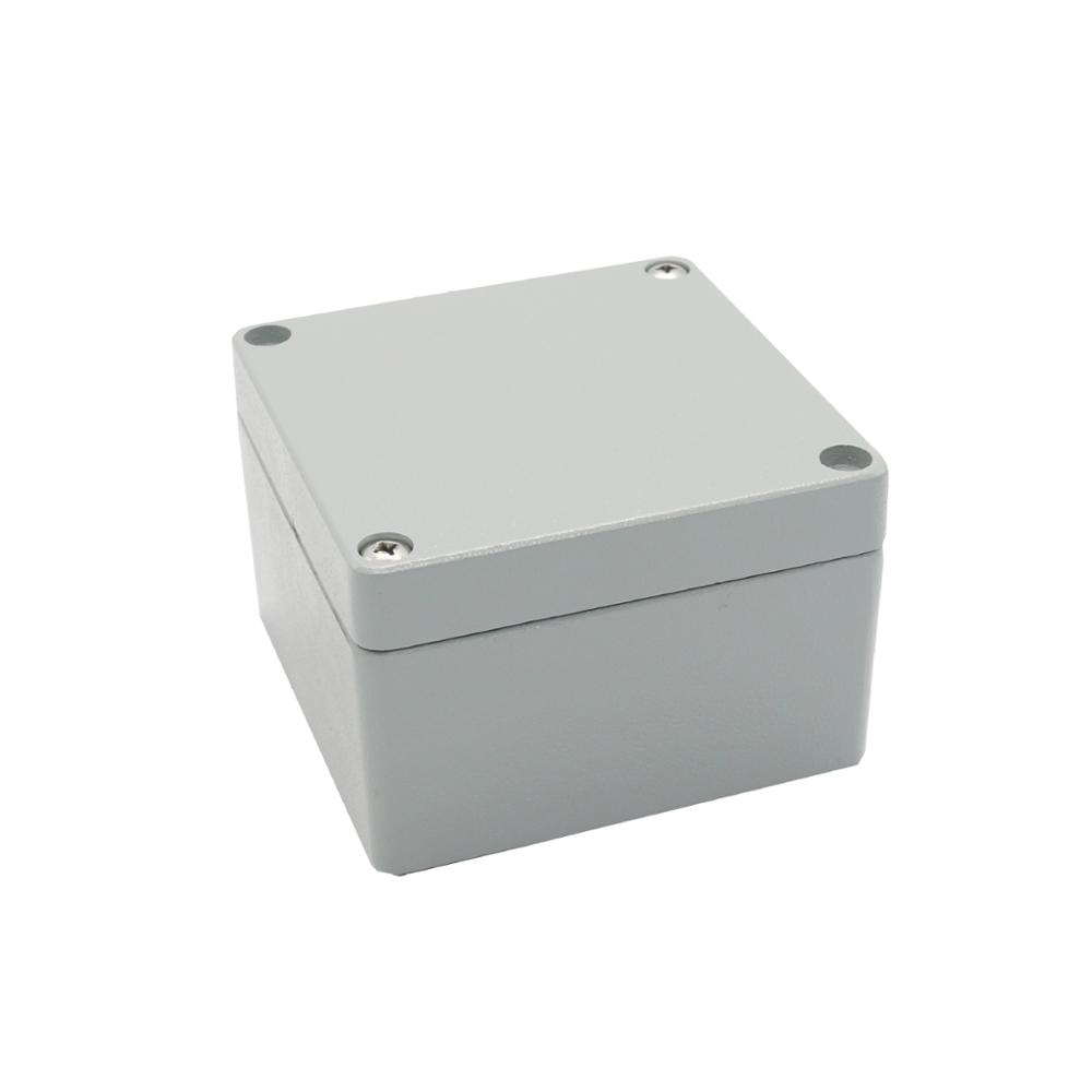 die cast aluminium box for electronic 120*120*82mm