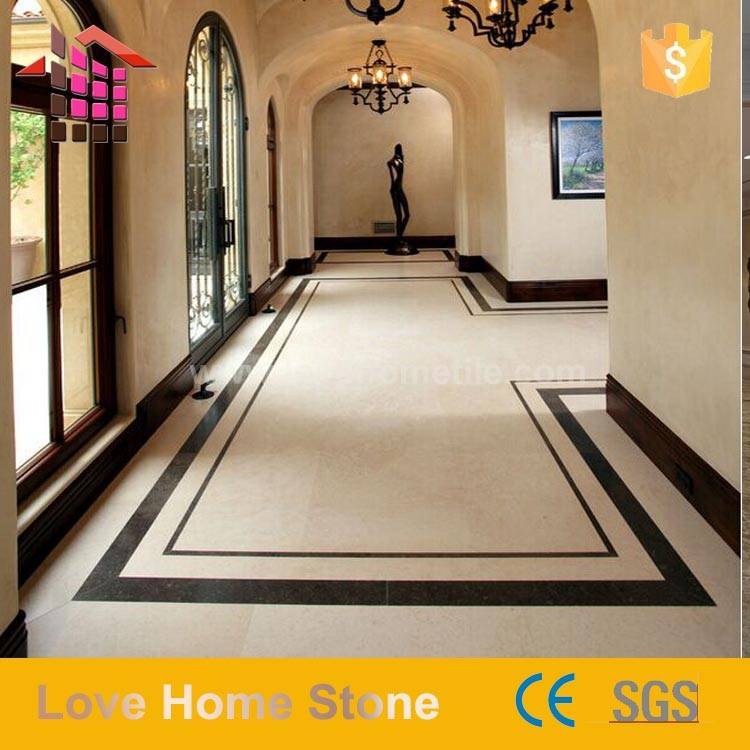 Chinese Supplier Marble Flooring Border Designs For Hall