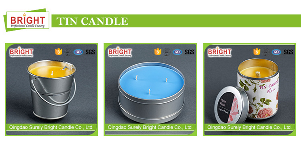 4Hours Burning Time Pure Colored Soy Wax Handmade Tealight Candle