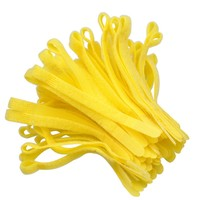 hook and loop tape fabric cable tie for electrial wire sandals