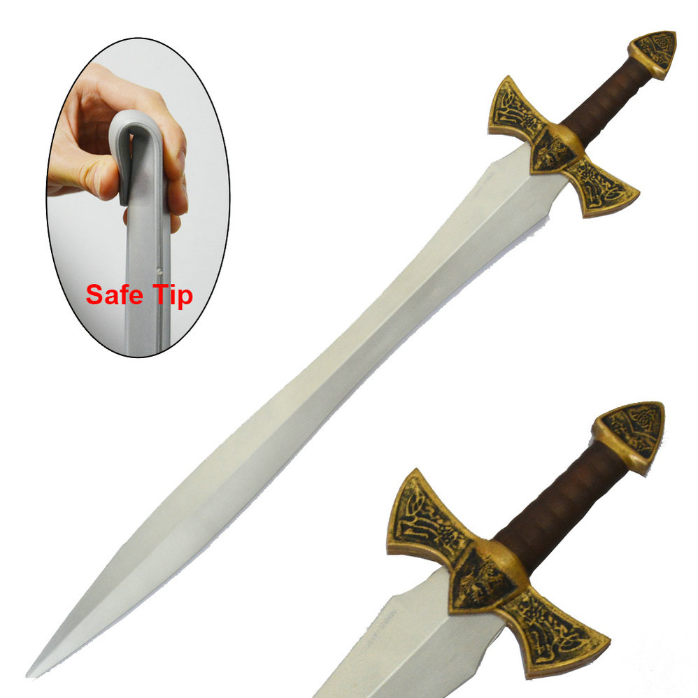 LARPGEARS Latex Rubber PU Foam Wholesale Masonic Anime Sword Kids Japanese Knife for Cosplay