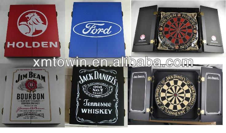 Dartbord In Kast : Promotie mdf dart kast voor sisal dartbord buy mdf dart kast