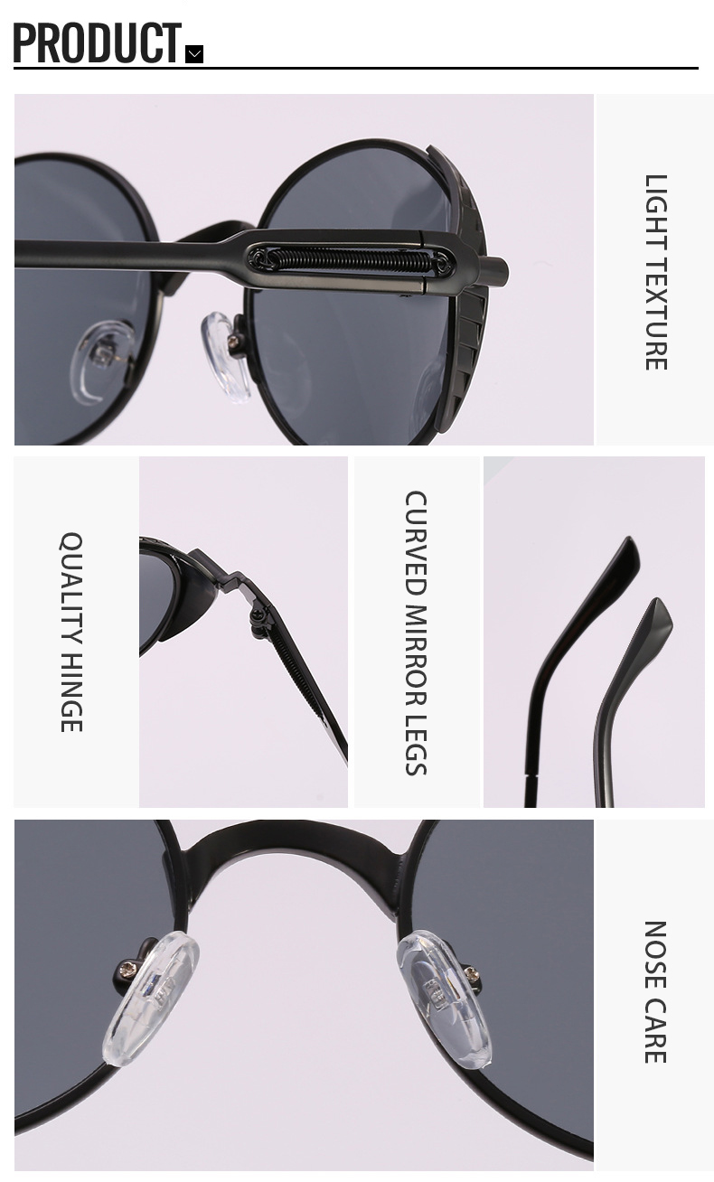 Fuqian mens designer sunglasses sale Supply for women-9