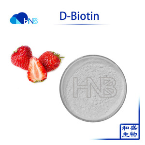 D-Biotin Vitamin H USP Grade coenzyme R cas 58-85-5 for hair