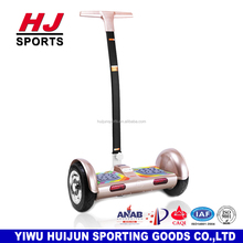HJ-B716 New Modelo 10 inch Latest balance car 2 Wheel Smart Electric Self Balance Scooter with handle Hoverboard