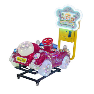 Kids Coin Operated Bubble Car Kiddie Rides Game Machine