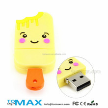 Free shipping novelty ice cream usb flash drive for girls direct buy china