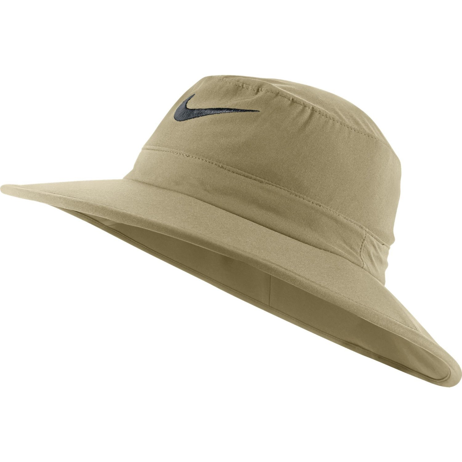 f14ba9ec947 Get Quotations · NEW Nike Sun Bucket Hat Khaki Black Fitted M L Fitted Hat  Cap