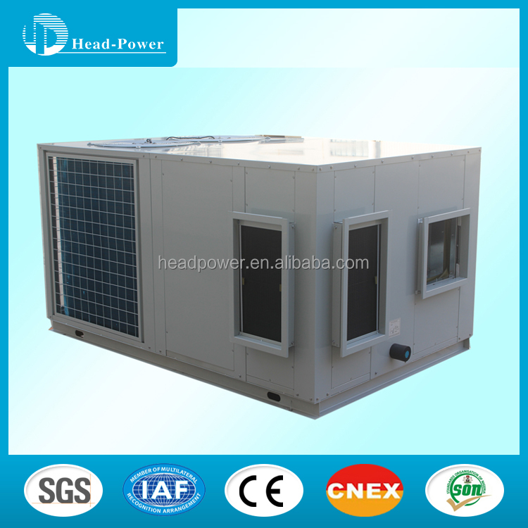 10 ton industrial popular rooftop packaged air conditioner