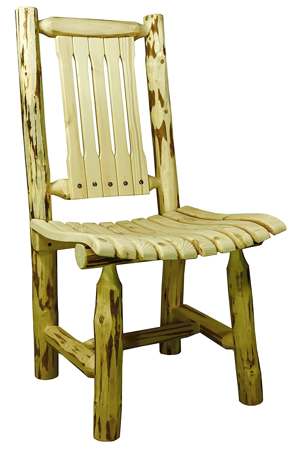 Montana Woodworks MWEPCVAZ Patio Chair, Clear Exterior Finish