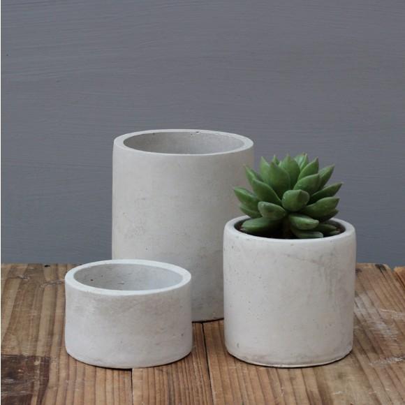 Цилиндр, суккулент, бетонный цветочный горшок, силиконовая форма для плантатора