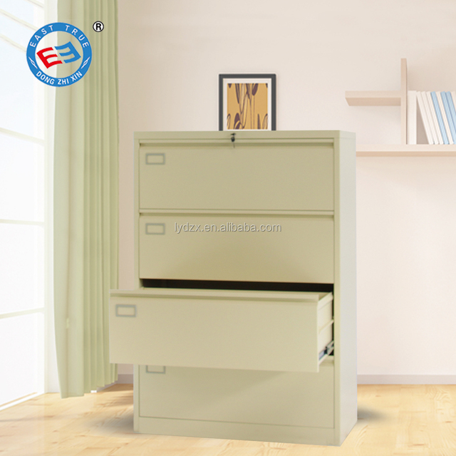 Modern Style Dampproof 4 Drawer Storage Lightweight Steel Filing Cabinets