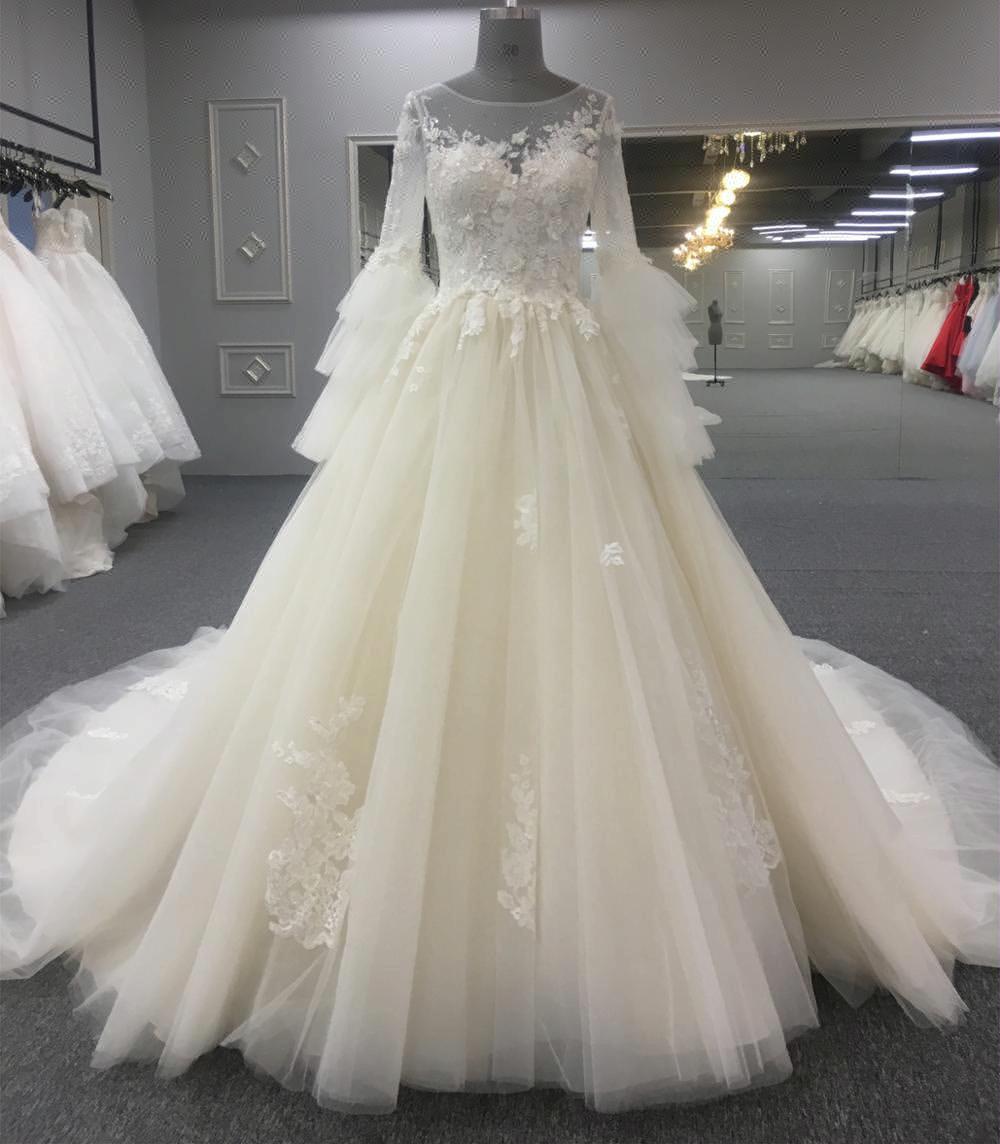 3e49cbc1a3ab7 مصادر شركات تصنيع أنيقة طويلة الأكمامفساتين الزفاف وأنيقة طويلة  الأكمامفساتين الزفاف في Alibaba.com
