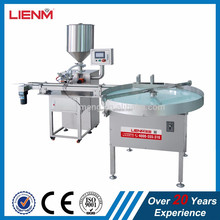 LM High Efficiency Automatic Single Ointment Filling Machine & bottle unscrambler