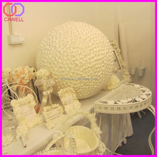 100cm large rose flower balls satin flower balls