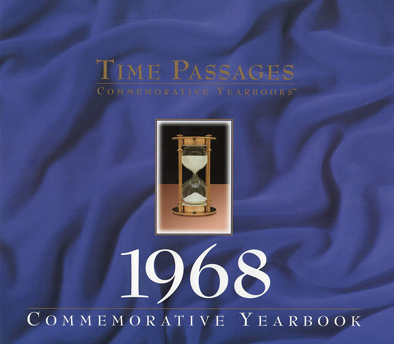 1968 Time Passages Yearbook for 50th Birthday Gift, 50th Anniversary Gift