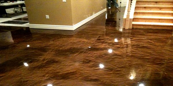 Met lico piso de epoxy recubrimiento pigmentos 3d resina for Epoxy boden 3d