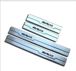 High quality 2013 2014 toyota rav4 rav 4 stainless steel - Exterior door threshold replacement parts ...