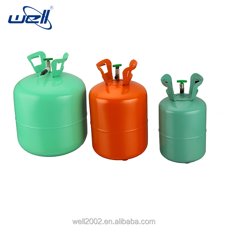 Helium gas cylinder 5kg 50LB 22.4L mini gas cylinder with pure helium for foil balloon party balloons