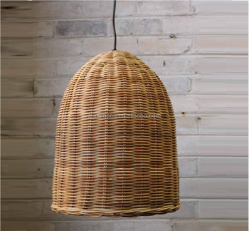 Woven wicker basket lamp handmade pendant lamp lighting buy wicker woven wicker basket lamp handmade pendant lamp lighting mozeypictures Gallery