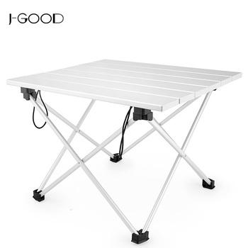 Picnic Small Portable Lightweight Aluminum Folding Table