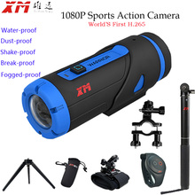 H.265 1080P Waterproof Sport Camera Wifi Video DV Action Cam Starlight Sensor G-sensor