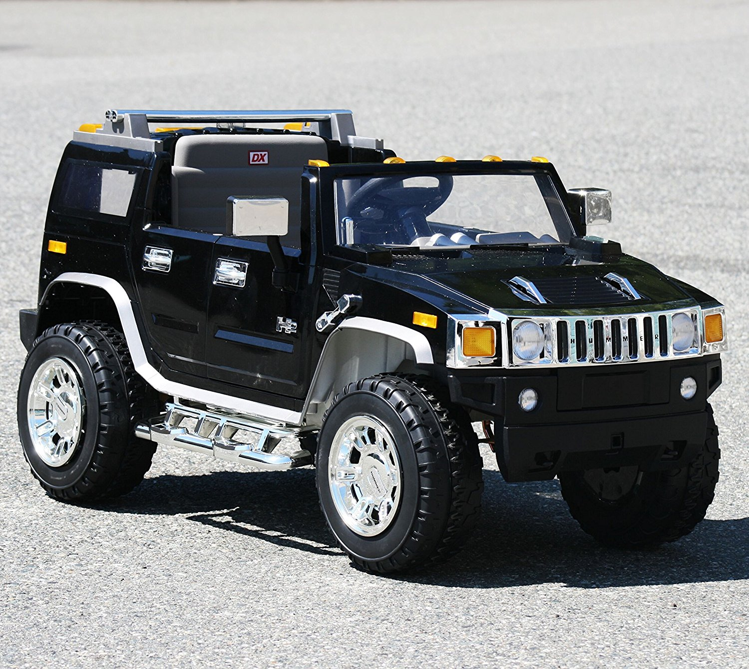 Ride On Hummer H2 1206 Black Electric Car The Remote Control For Kids From