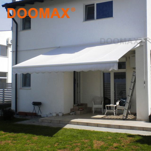 #DX100 Transparent RV Aluminum Pagoda Awnings with CE