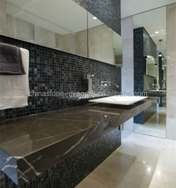 Iran Marble ProductsGrey Bathroom CountertopIran Pietra Grey