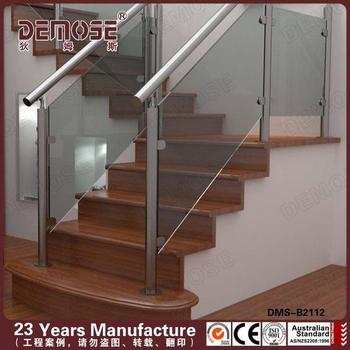 Stainless Removable Stair Railing Or Glass Railing/steel Stair Hand Railing