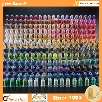 260 Rainbow Colors 500m 550y Brother Polyester Embroidery Thread