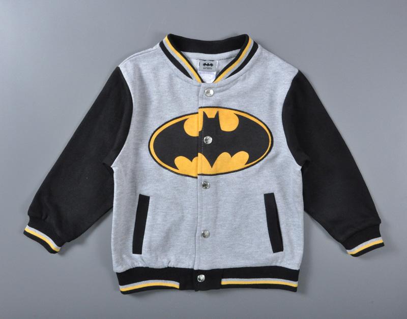 2016 high quality Batman baby boy winter jacket Christmas ...
