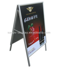 aluminum hotel display sign board
