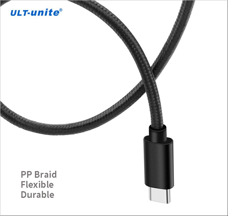 Amazon Top Seller 2018 Geflochtenes USB 3.0-Kabel vom Typ A zu Typ C