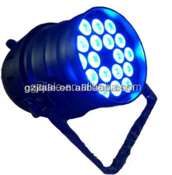 18x3w tri led par 64 lighting