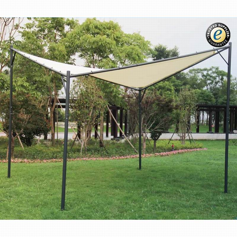 3x3m/3x4m deluxe patio used garden line iron steel pavilion gazebo 3x4m for sale
