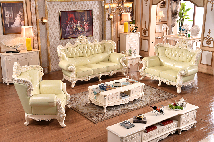 European leather sofa high quality living room furniture for European leather sofa