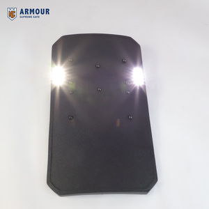 2018 Hot Sale IIIA PE Bullet Proof Shield Soft Bullet Proof Riot Shield military night vision