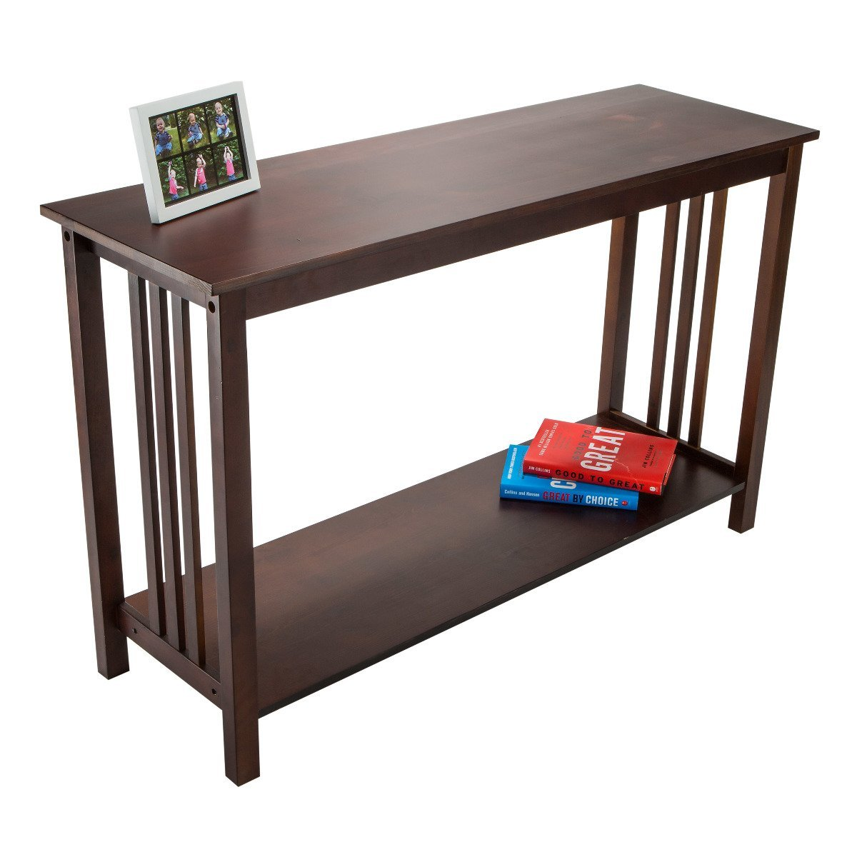 Buy Adeptus Mission Style Wood Sofa Console Table, Large In Cheap Price On  M.alibaba.com