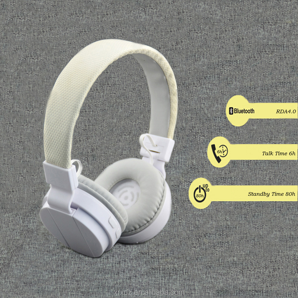 Stereo Bluetooth Headset Support TF Card and FM Radio for Gaming or Video Player