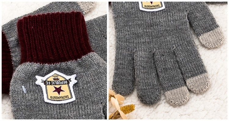 Hot selling Wholesale Kids Gloves string knit mitten