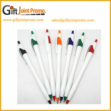 Promotional White Thin Hotel Plastic Ball-Point Pen