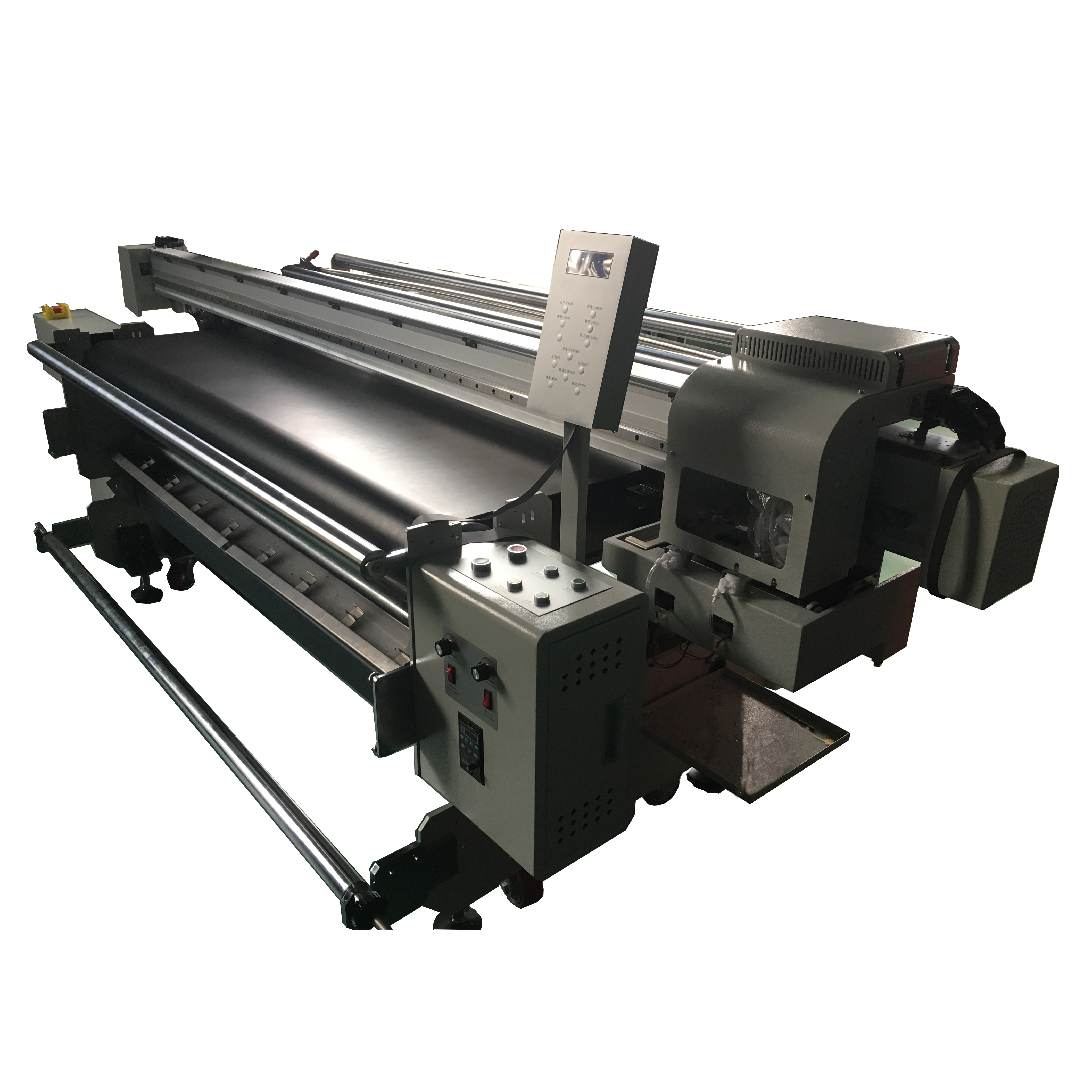 Commercial Digital Textile Fabric Printing Machine 1 8m - Buy Fabric  Printing Machine,Textile Printing Machine,Commercial Digital Fabric  Printing