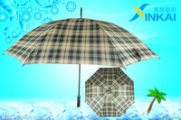 "29"" * 16 ribs promotional black-plated shaft stright umbrella"