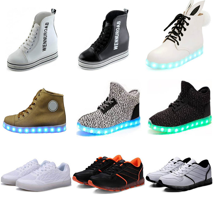 Economic New Year Present tread Led Sneaker Shoes
