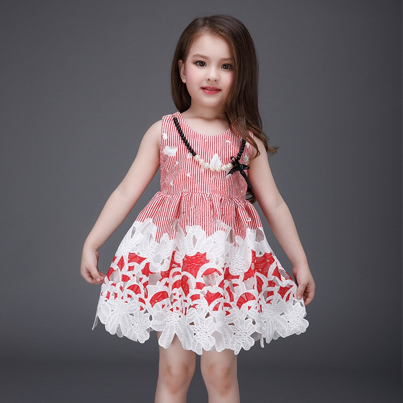 628c64468 Hot sale frock design latest summer baby beautiful princess dress L ...