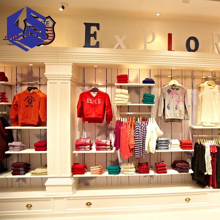 79565286 Retail Kids Garment Shop Clothing Store Interior Furniture Design ...