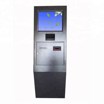Self customized touch screen payment kiosk with NFC card reader