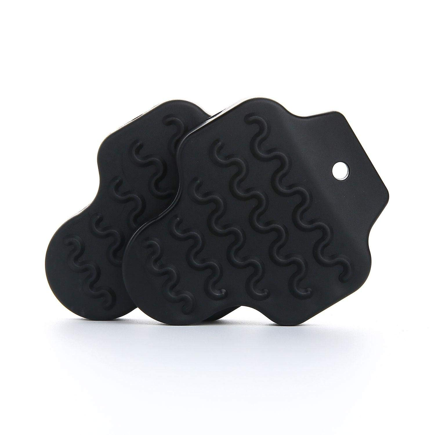 Aolvo Bike Shoe Cleat Covers, Anti Slip Quick Release Rubber Bike Pedal Cleat Covers Protector for LOOK KEO, Wellgo RC7, E-ARC10/10k/11, E-BLK10/10K/11 Bike Pedal Cleat Systems - 1 Pair